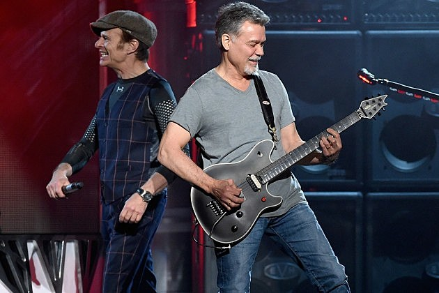 Eddie Van Halen David Lee Roth