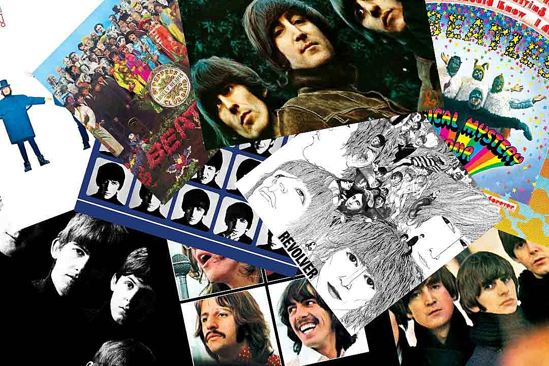 Beatles Albums Ranked