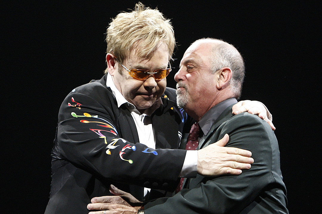 Elton john and billy joel dating history