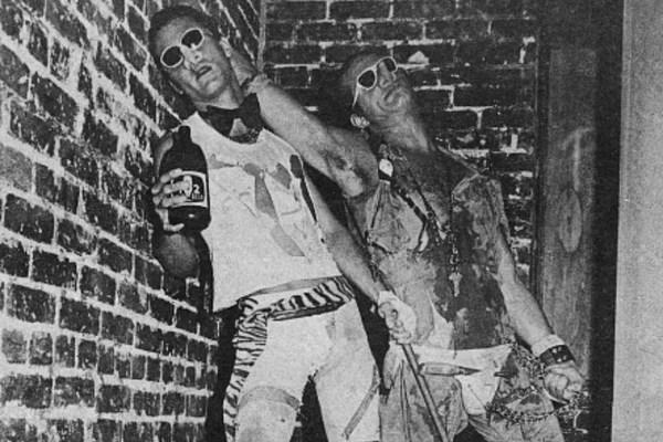 The Night Van Halen Posed as Punks