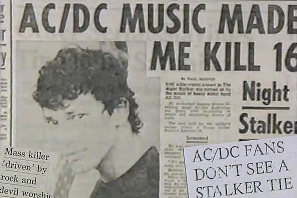 The History Of Ac Dc And The Night Stalker Murders