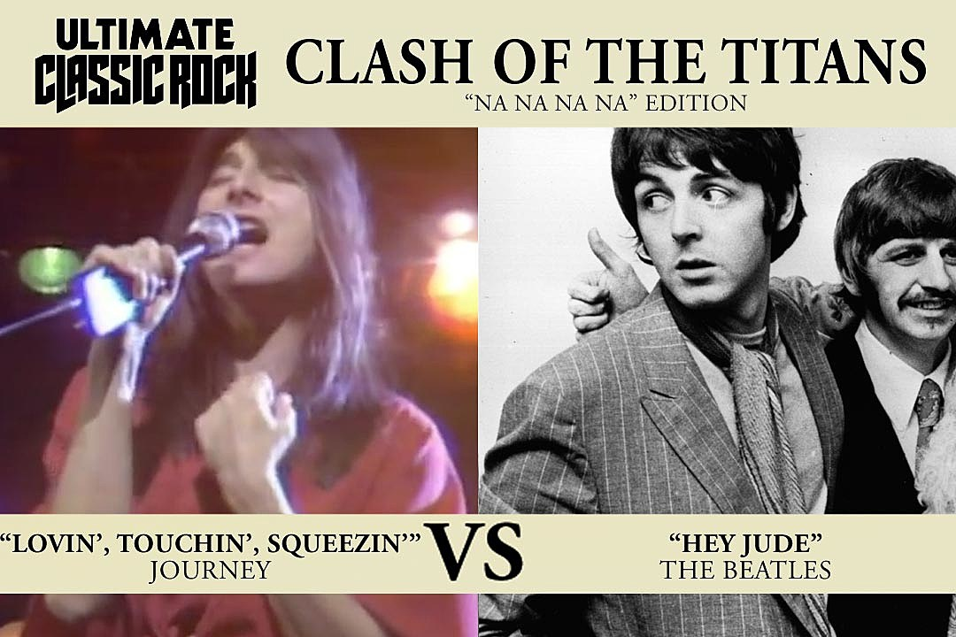 Lyric loving touching squeezing lyrics : Clash of the Titans: Journey, 'Lovin', Touchin', Squeezin'' vs ...