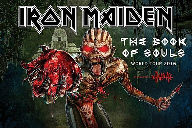 iron maiden announce 39 book of souls 39 2016 world tour dates. Black Bedroom Furniture Sets. Home Design Ideas
