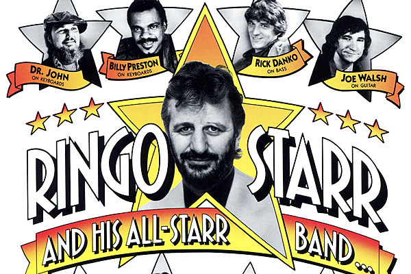 When Ringo Starr Released His First-Ever Live Album