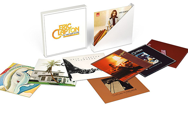 Eric Clapton S Early Albums To Be Reissued In Vinyl Box