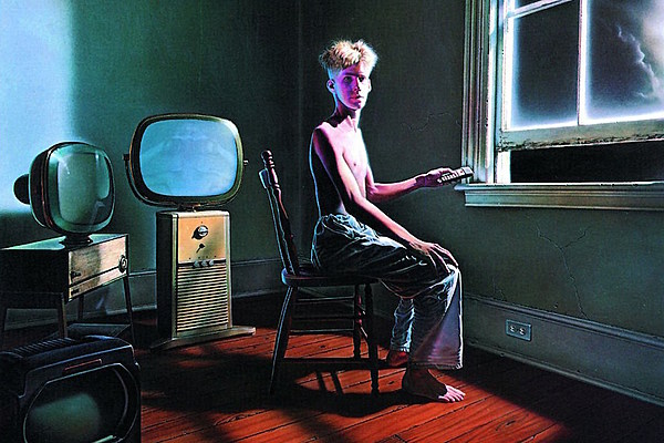 Boy From Rush S Power Windows Album Cover Owns A Record