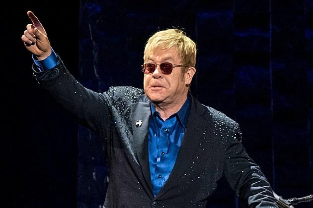 Elton John is unhappy