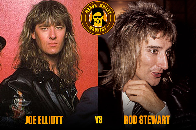 Joe Elliott Rod Stewart March Riff Madness