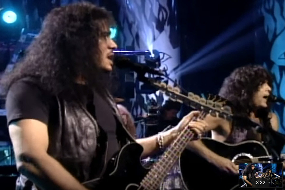 That Time Kiss Went Acoustic And Reunited On Unplugged