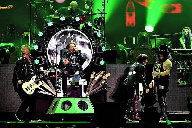 Guns N' Roses US 89 Live