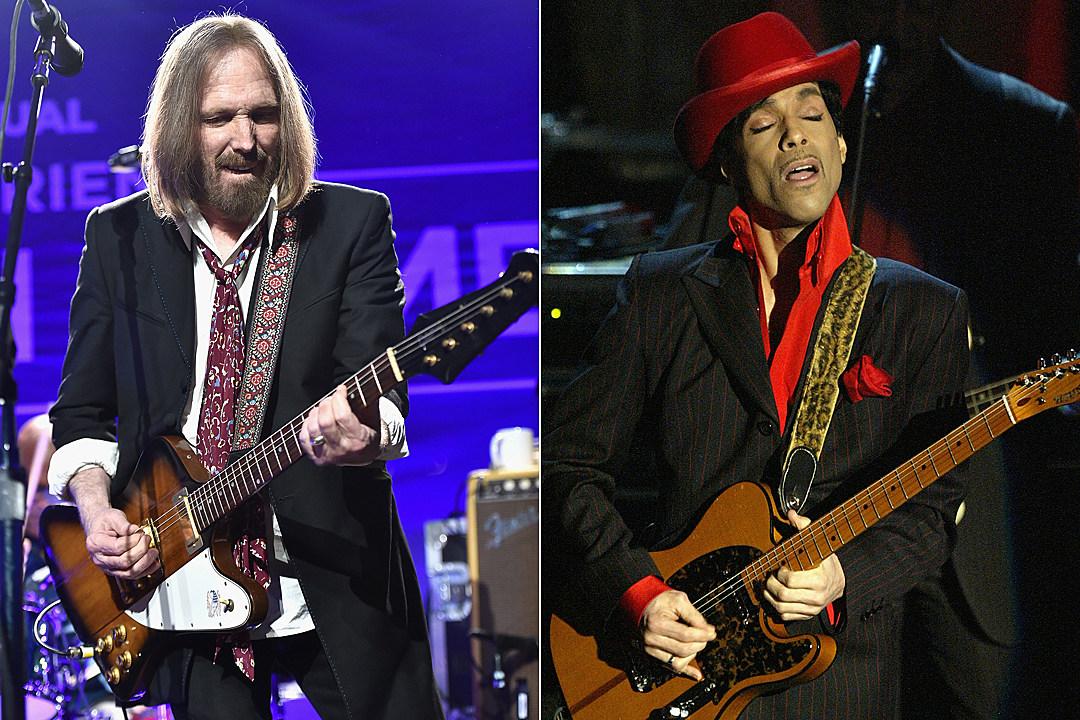 Tom Petty Recalls Princes Hall Of Fame Guitar Solo You Could Feel