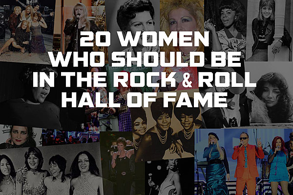 rock hall women Rock's most influential women will be spotlighted in rock and roll hall of fame.