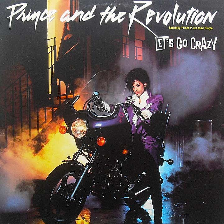 2. 'Let's Go Crazy' (1984)