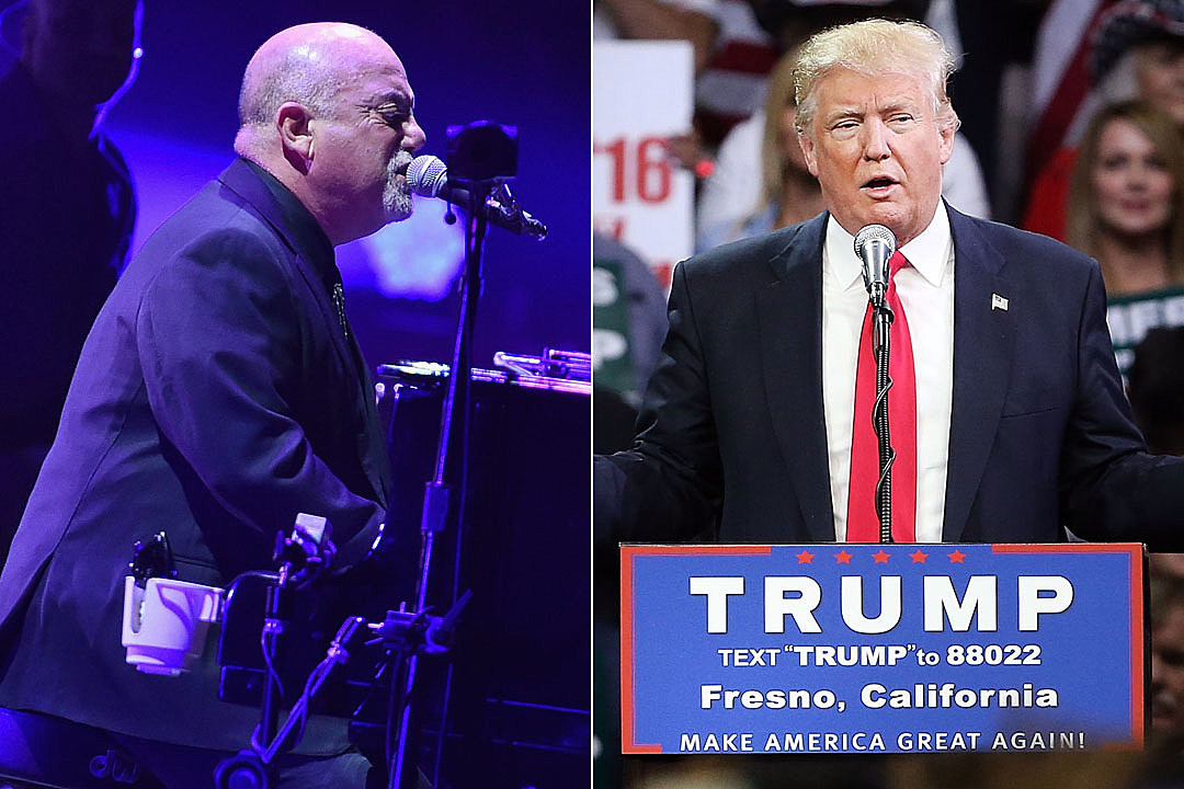 Billy Joel Says Donald Trump's Campaign Is 'Very Entertaining'