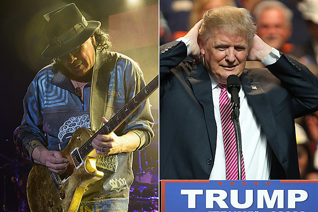 Carlos Santana Has a Plan to Stop Donald Trump