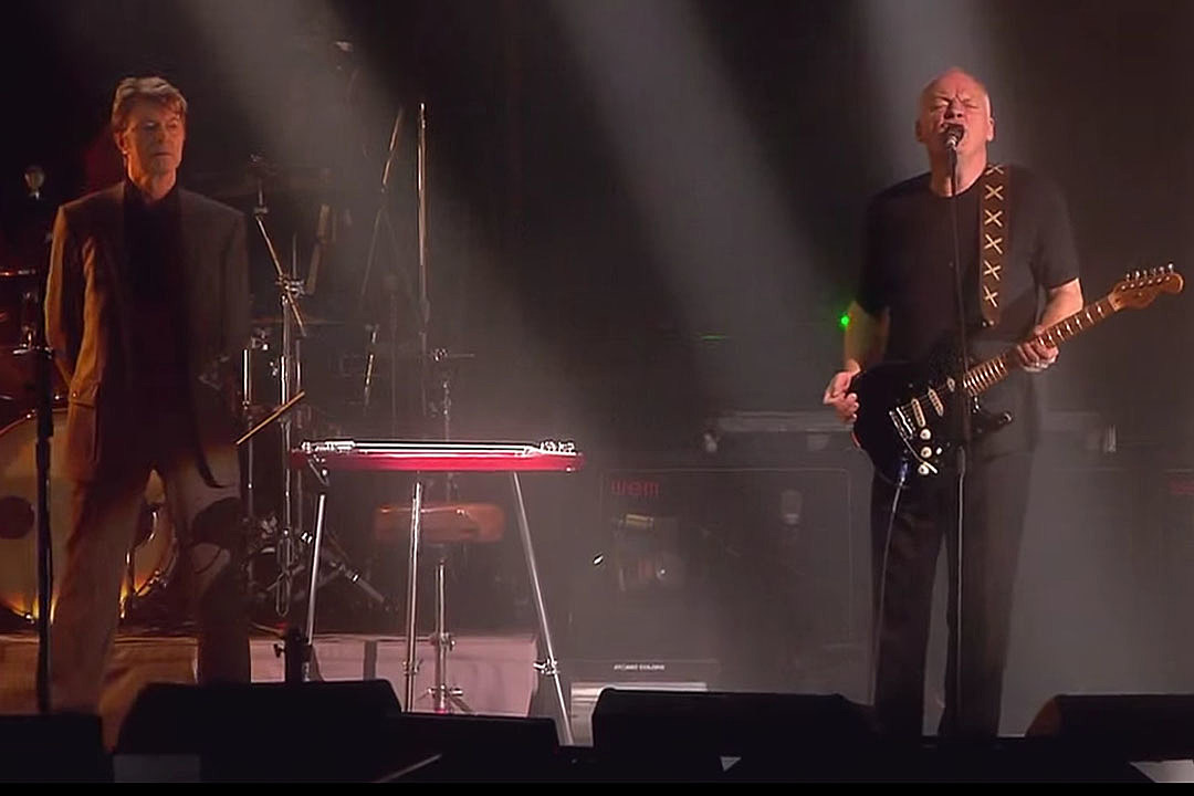 10 Years Ago: David Bowie Joins David Gilmour Onstage at London's Royal…