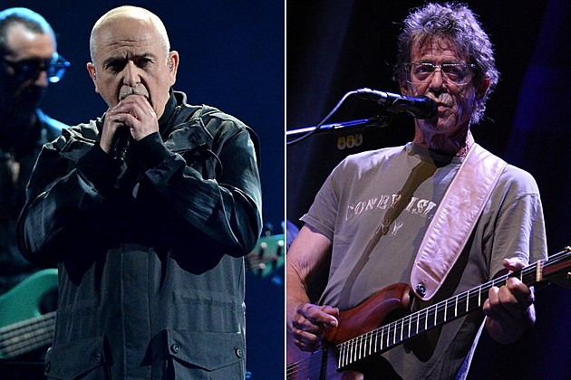 Peter Gabriel And Lou Reed Reissues Announced