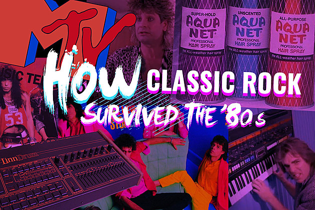 How Classic Rock Survived the '80s