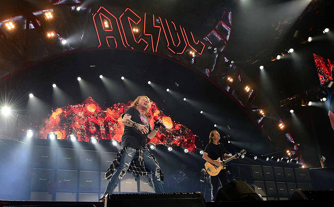 Unconfirmed Rumor: Axl Rose and Angus Young Prepping New AC/DC Album