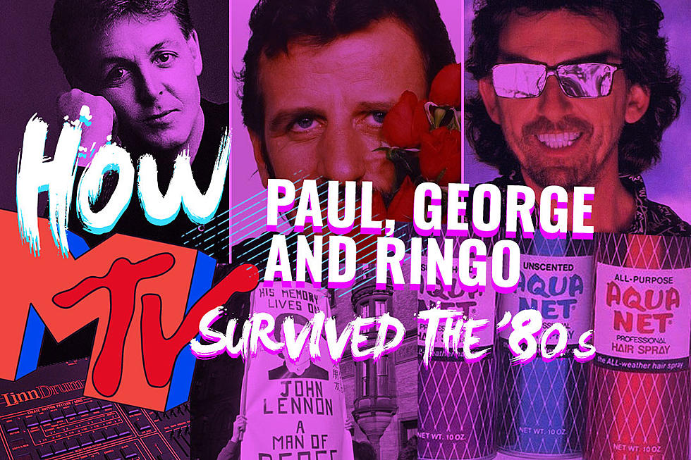 How Paul McCartney George Harrison And Ringo Starr Survived The 80s