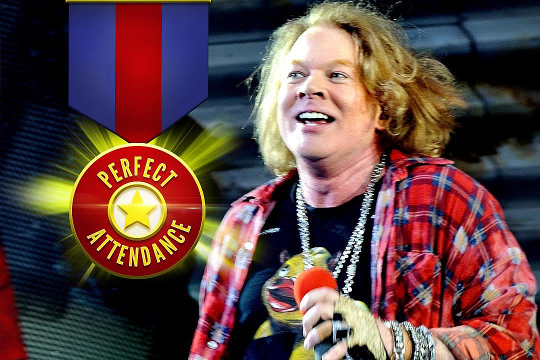 Perfect Attendance, Zero Drama: Guns N' Roses Wrap Up Their U.S. Reunion Tour