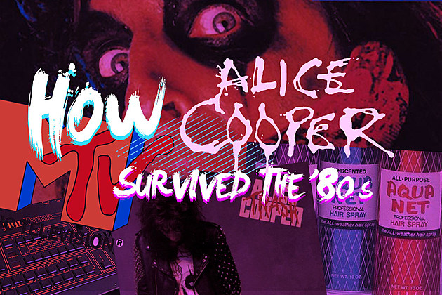 How Alice Cooper Survived the '80s