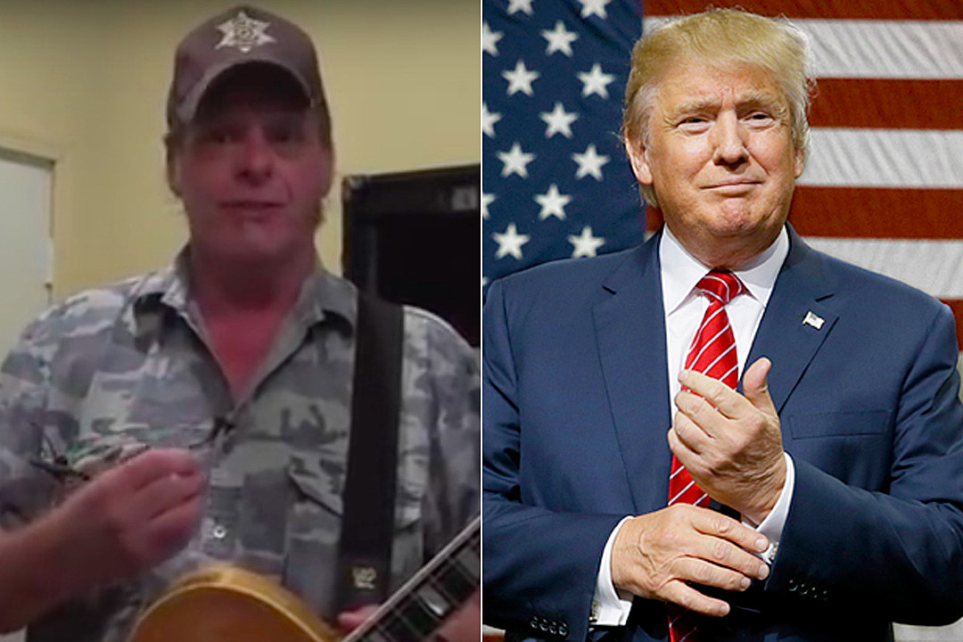Ted Nugent Appears in Donald Trump Campaign Ad