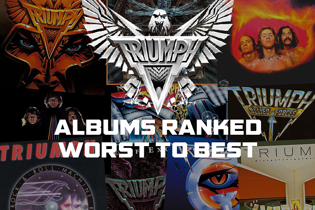 triumph albums ranked worst to best