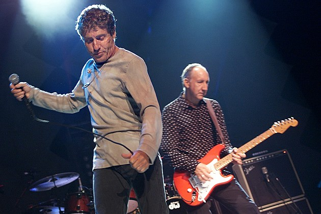 The Who Roger Daltrey Pete Townshend