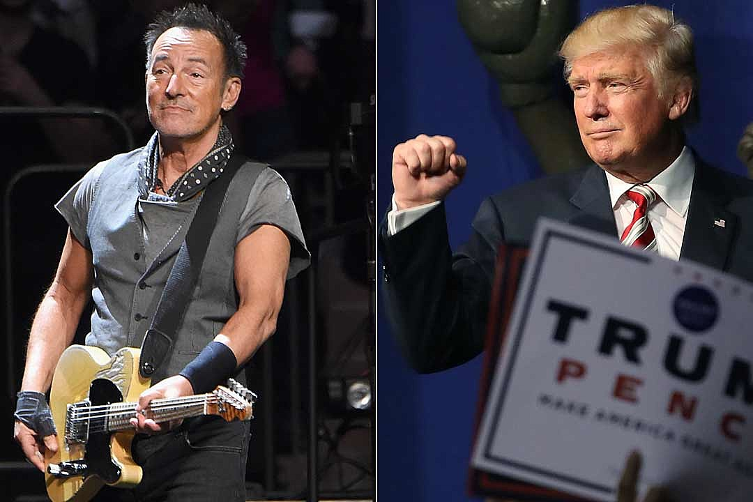 Bruce Springsteen Thinks Donald Trump Is a Moron