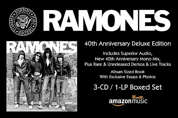 Ramones 40th Anniversary Deluxe Edition 3 Cd 1 Lp Boxed