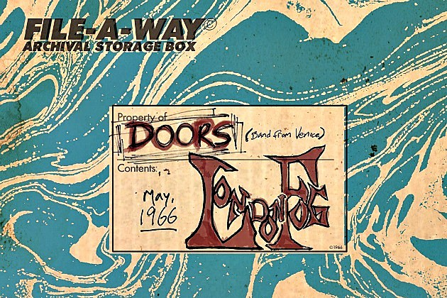 The Doors London Fog 1966 Uncovers Previously