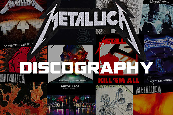 metallica discography. Black Bedroom Furniture Sets. Home Design Ideas