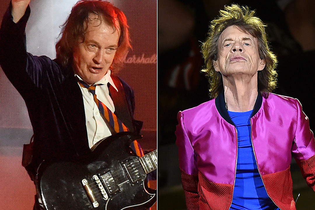 AC/DC and Rolling Stones Make Top 10 List of World's Highest-Paid Musicians