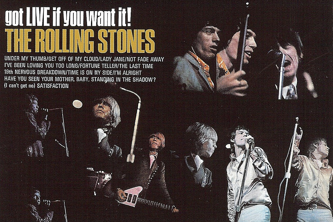 50 Years Ago: Rolling Stones Release First 'Live' Album, 'Got Live if…