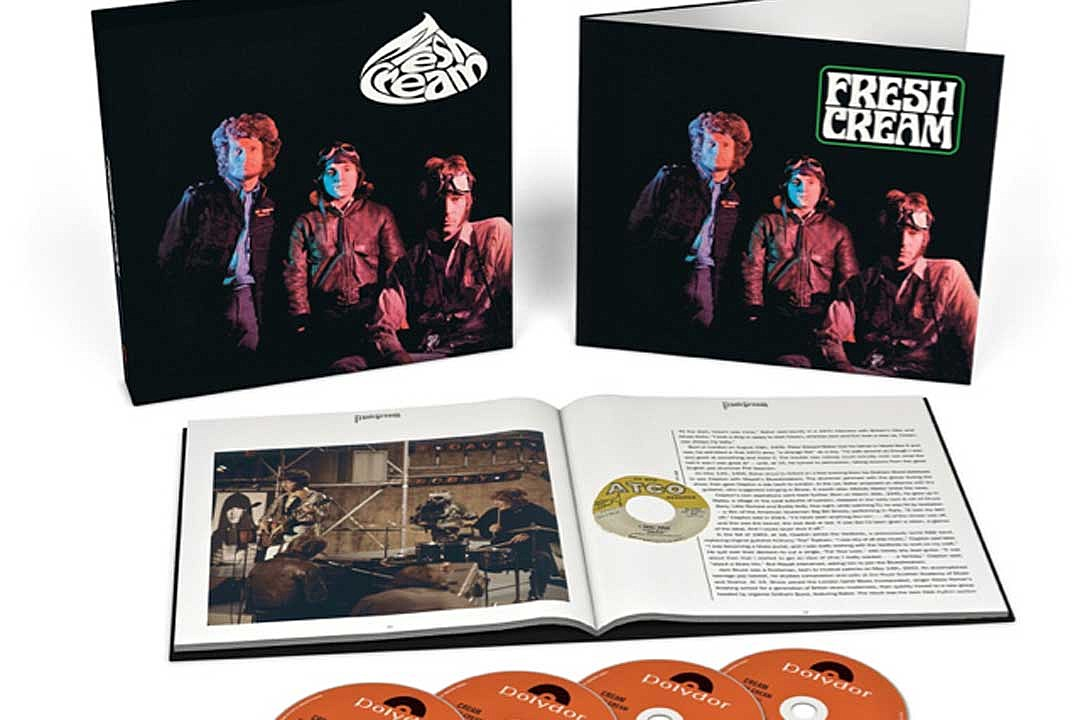 Cream's Debut Album to Be Reissued in Four-Disc Deluxe Edition