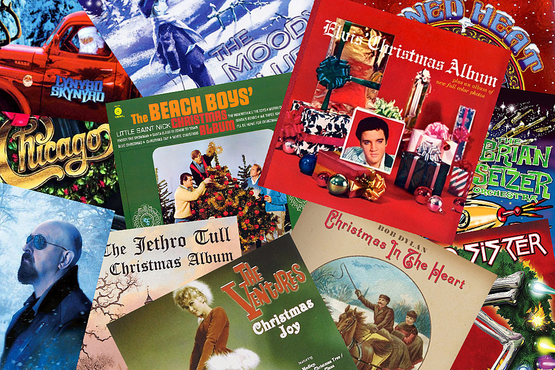 top 12 classic rock christmas albums