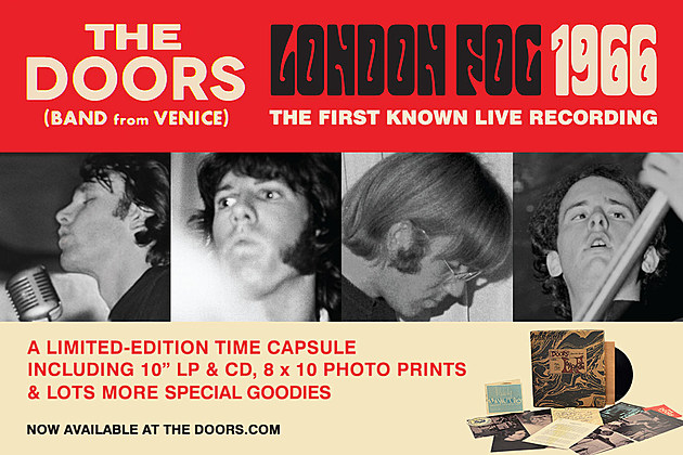 The Doors London Fog Box Set The Fat Angel Sings