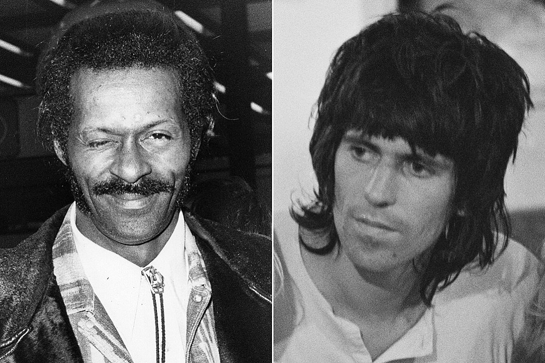 45 Years Ago: Chuck Berry Kicks Keith Richards Off His Stage