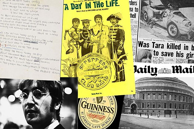 Sotheby's / Northern Songs / Daily Mail /Guinness /  Hulton Archive, Getty Images (x2)