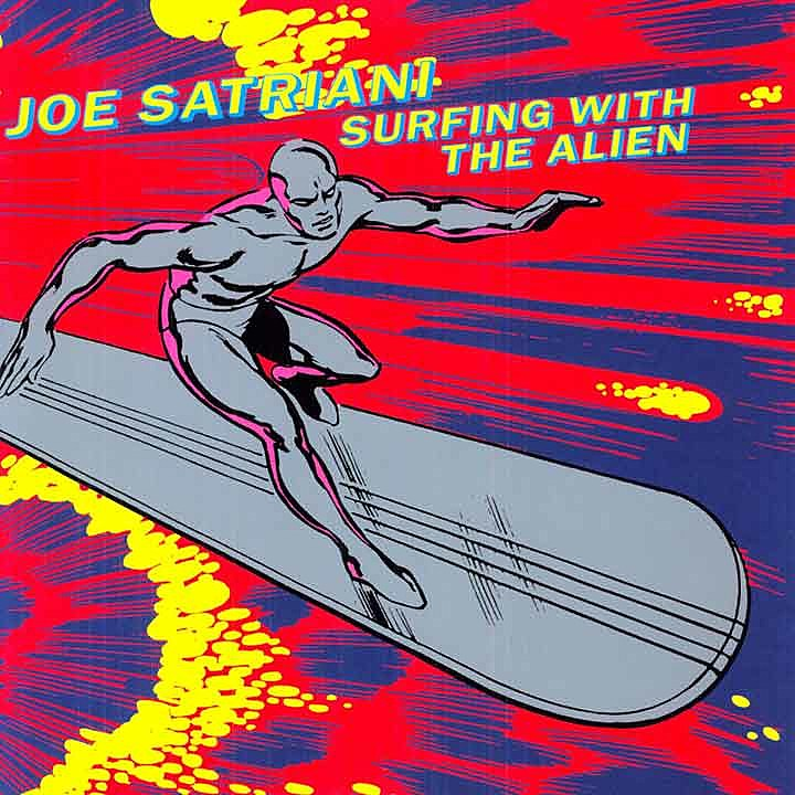 Joe Satriani, 'Surfing With the Alien'