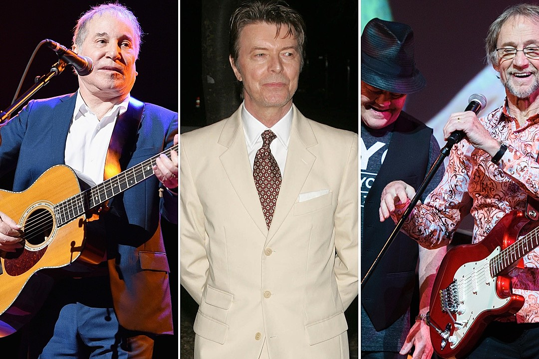 Paul Simon, the Monkees and David Bowie Among Big Ultimate Classic Rock Award Winners