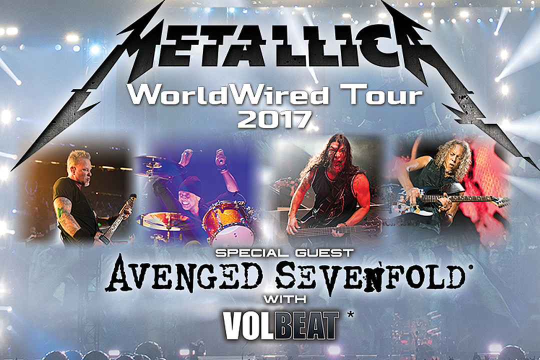 Tickets on Sale Now! Five Things to Look Forward to on Metallica's 'WorldWired' Tour