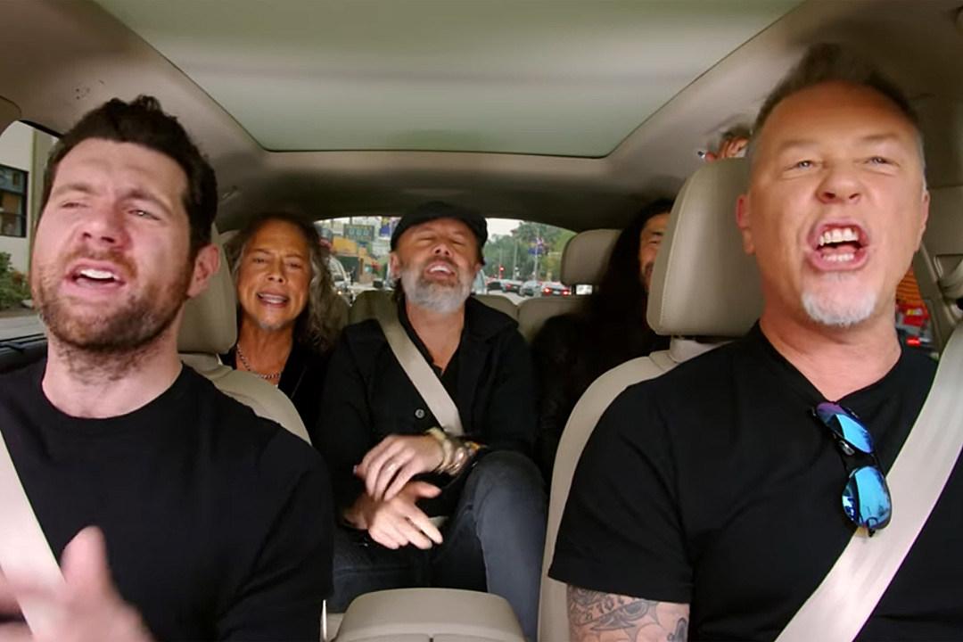 Metallica Sing Rihanna, Blake Shelton Sings Bon Jovi in 'Carpool Karaoke' Trailer
