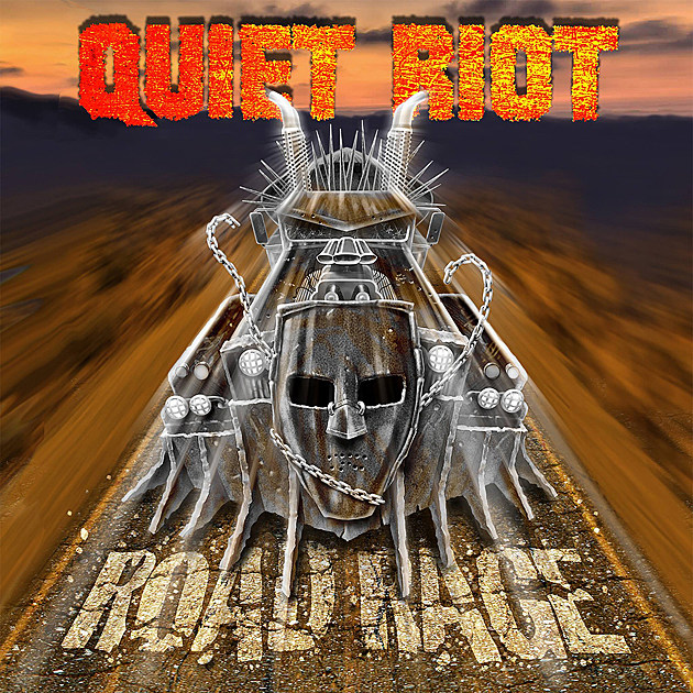 Quiet Riot 'Road Rage' album cover
