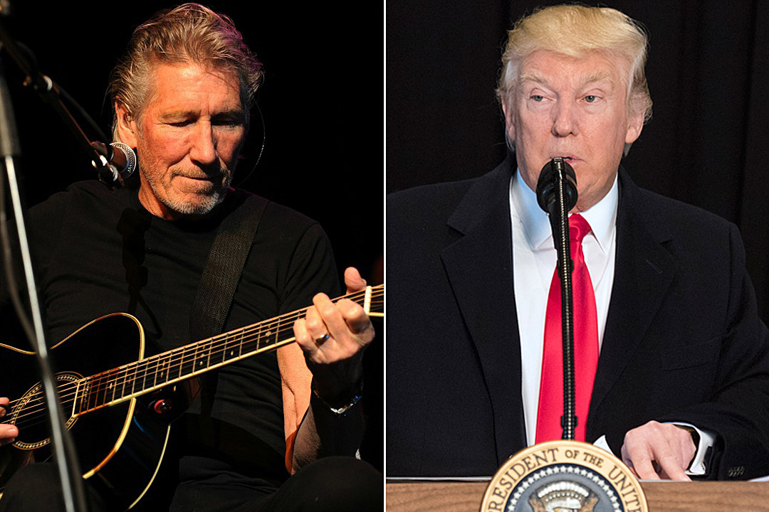 Roger Waters Debuts Anti-Trump Presentation of