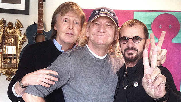 Paul McCartney, Ringo Starr and Joe Walsh