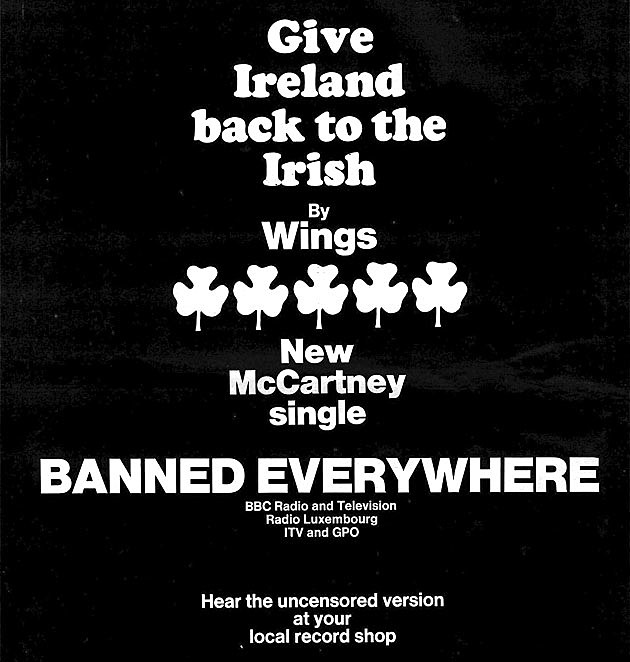 Wings press advert