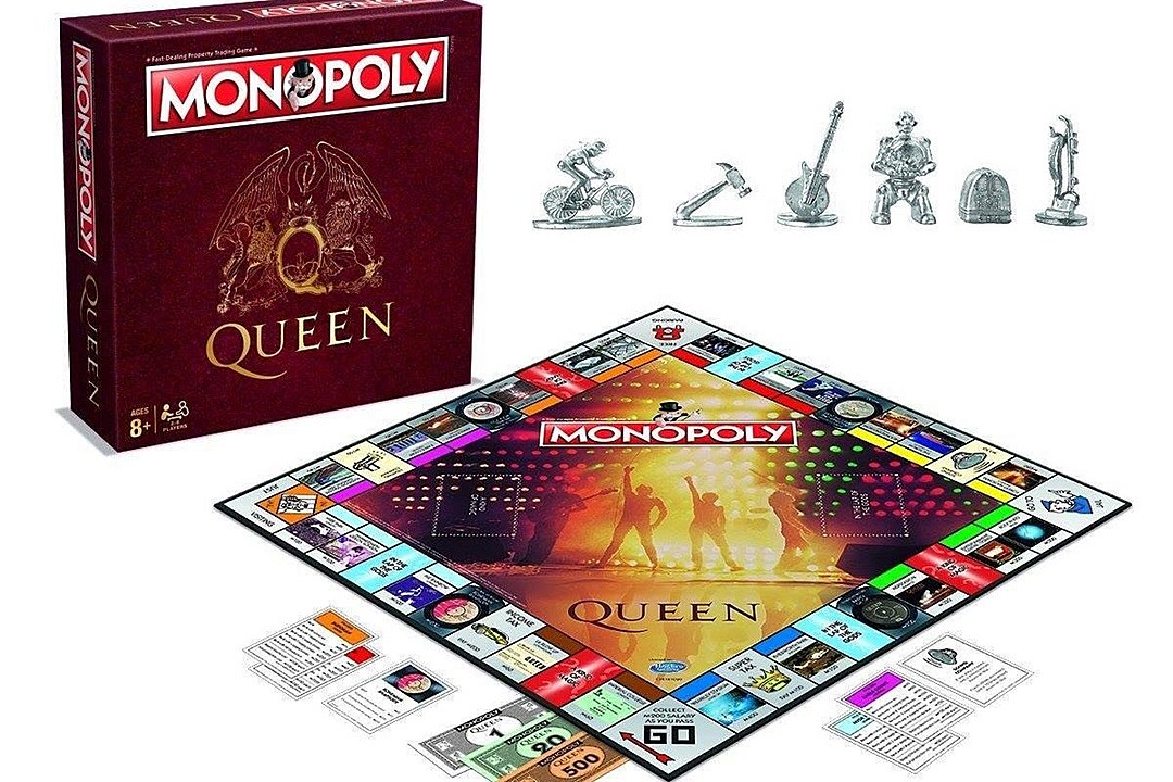 Queen Announce Special Edition of Monopoly Board Game