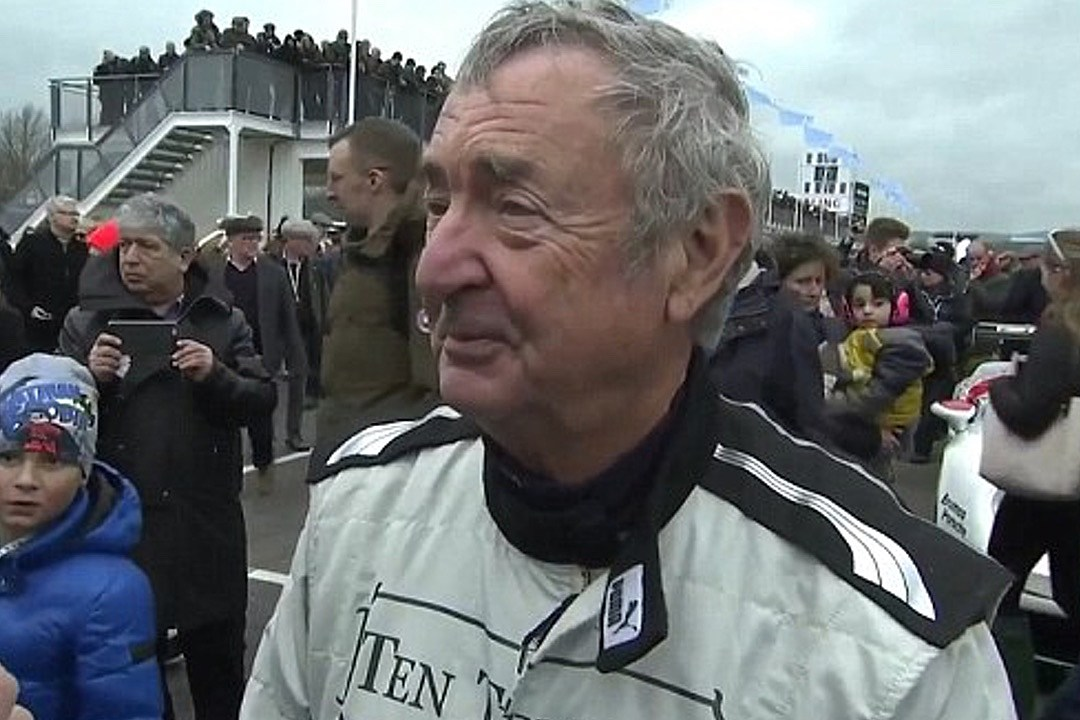 Watch Nick Mason Crash His McLaren F1 GTR